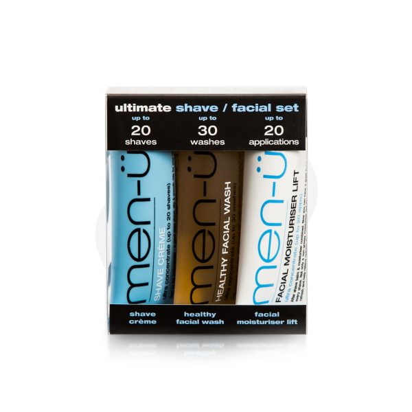 Ultimate Shave Facial Set 3x15ml